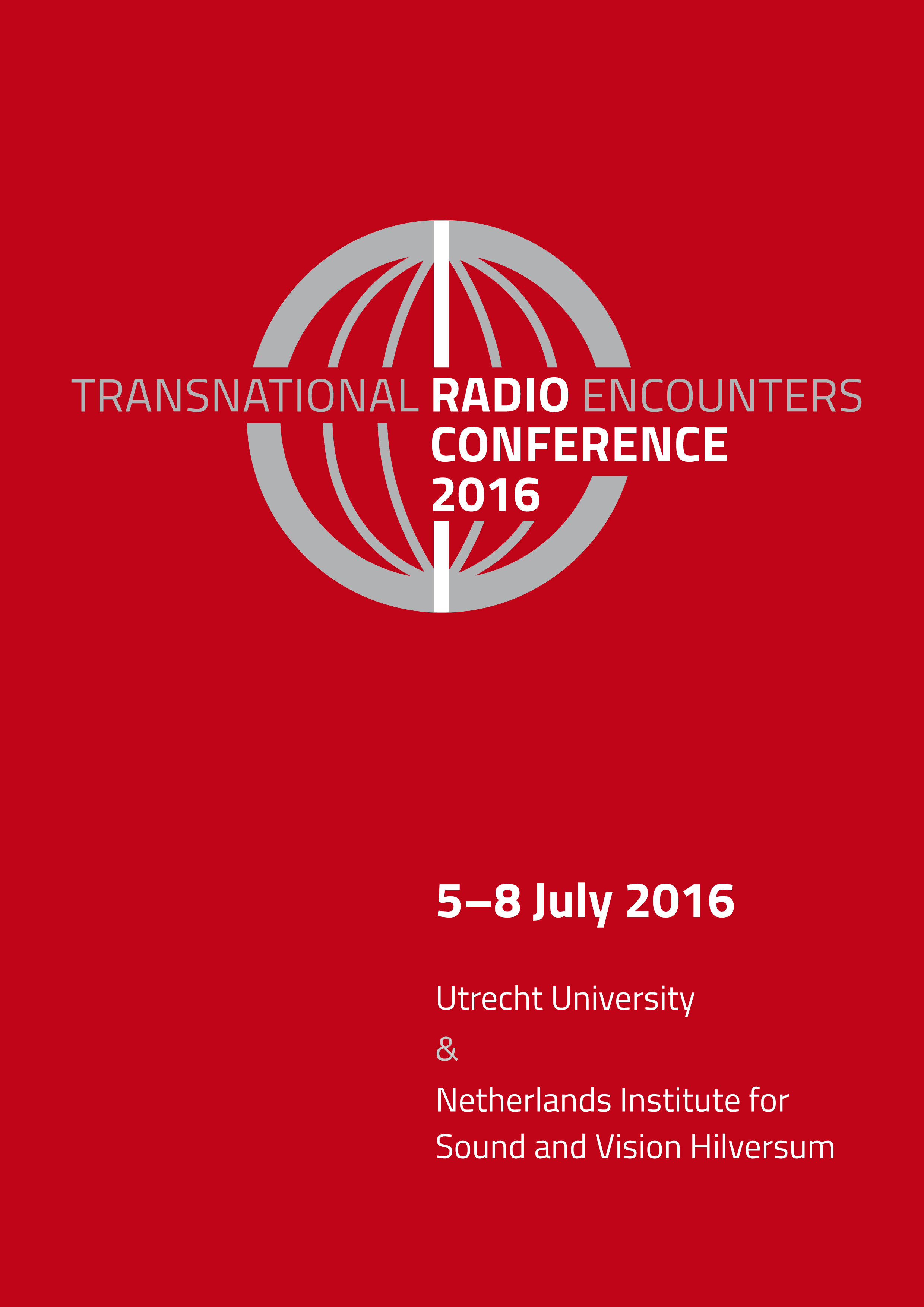 Radio Conference 2016 – Abstract Book